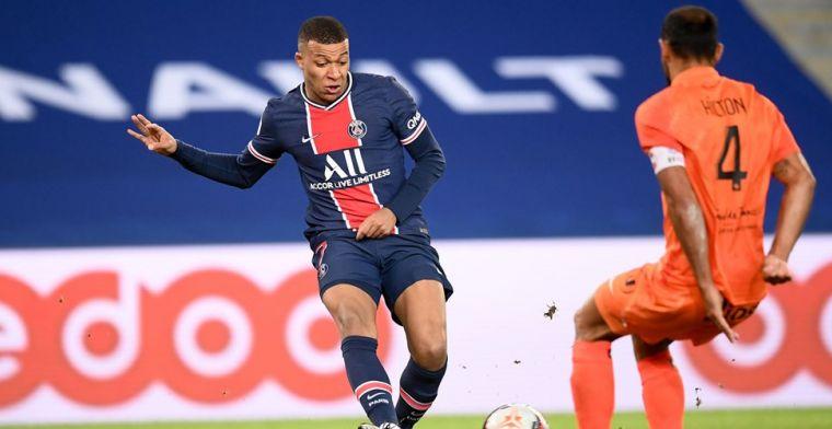 Mbappé twijfelt nog over nieuw contract bij PSG: 'Ik wil er goed over nadenken'