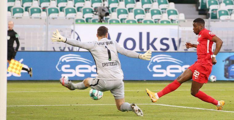 Schalke 04 speelt.Achtervolgers RB Leipzig en Bayer Leverkusen leggen rode loper