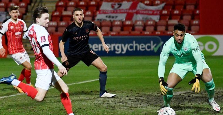 Man City ontsnapt aan grote blamage in FA Cup tegen vierdeklasser Cheltenham