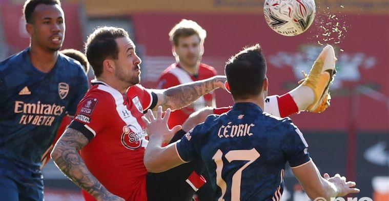 Titelhouder Arsenal uitgeschakeld: own goal breekt Gunners op tegen Southampton