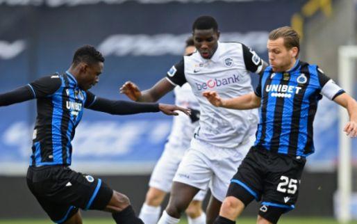 LIVE: Club Brugge terug op voorsprong tegen KRC Genk