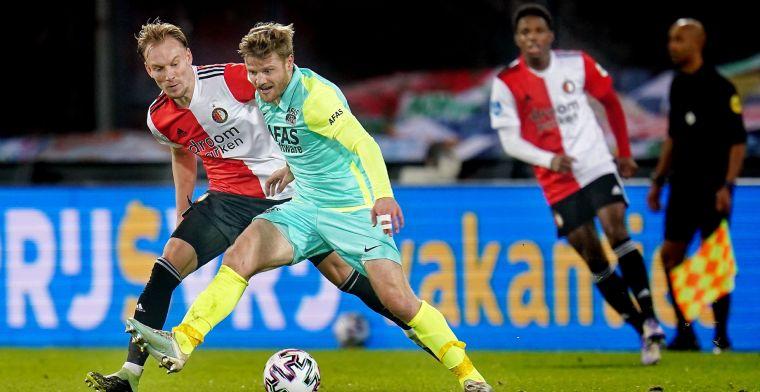 Feyenoord kan landstitel vergeten na spectaculaire nederlaag tegen AZ
