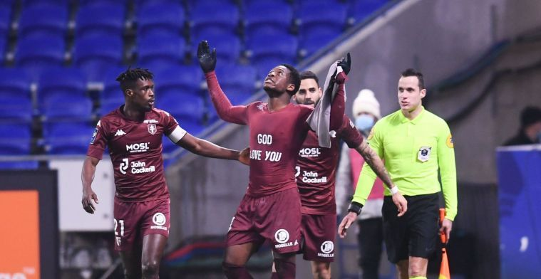 Leya Iseka (ex-Anderlecht) opnieuw van waarde in Frankrijk met knap doelpunt