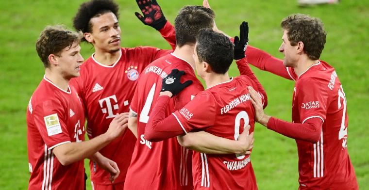 Schalke 04 gaat zonder Huntelaar hard onderuit tegen Bayern München