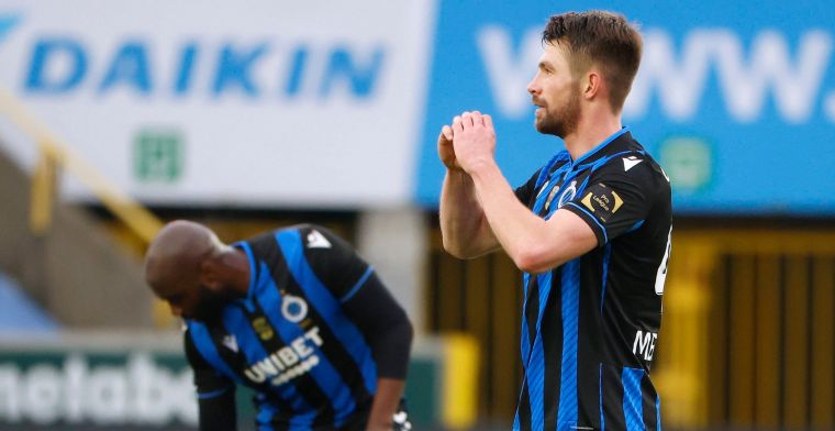 Mechele matchwinnaar voor Club Brugge tegen Genk: Weet niet wat ik deed