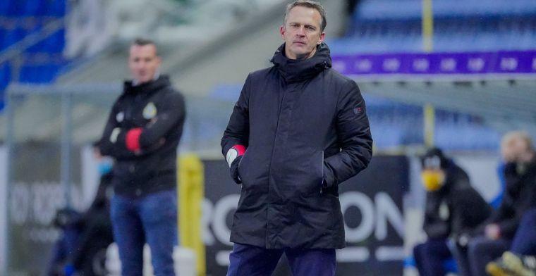 Genk-coach Van den Brom baalt na 'onnodig' verlies: Het is teleurstellend