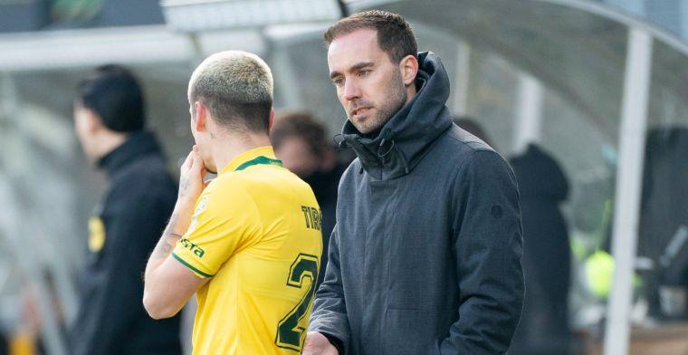 Desillusie bij Fortuna na Ajax-goal: 'Ik dacht dat Onana de bal uit zou spelen'