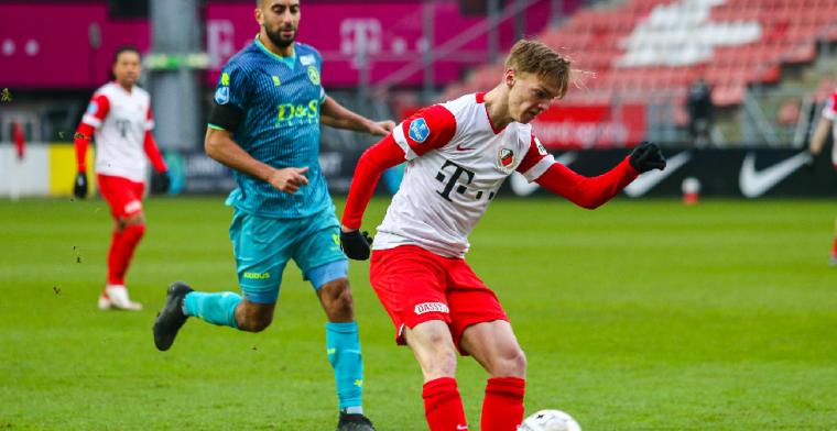 'Of FC Utrecht een leuk meisje is? Haha ja, een heel leuk meisje'
