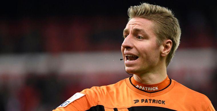 Visser onder vuur bij Club Brugge - Genk: 'Zonder kaarten laat je dit ontaarden'