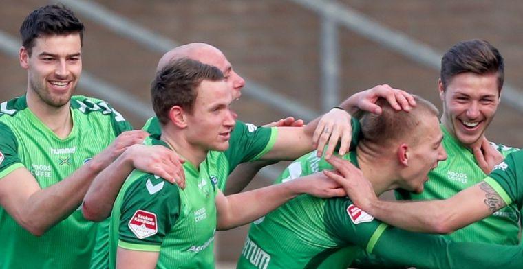 Volendam vlak na sterk optreden tegen PSV hard onderuit tegen De Graafschap