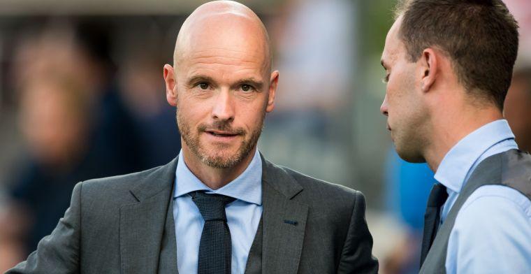 Ten Hag lovend: 'Hij kan hoofdtrainer worden op het allerhoogste niveau'