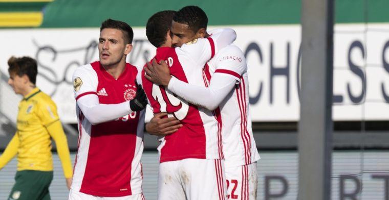 Haller weer belangrijk voor Ajax: Eredivisie-koploper boekt minimale zege