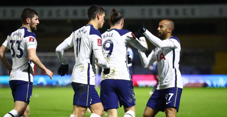 Tottenham ontsnapt in de FA Cup, Getafe wordt afgeslacht in Spanje
