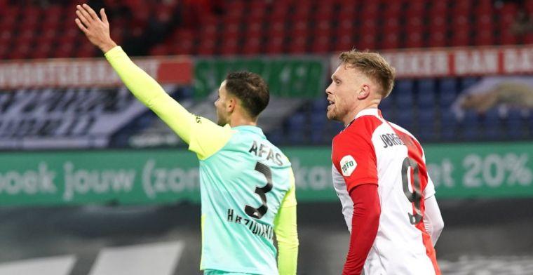 Komst Jörgensen-vervanger bij Feyenoord 'uitgesloten': 'Zo hard rode cijfers in'