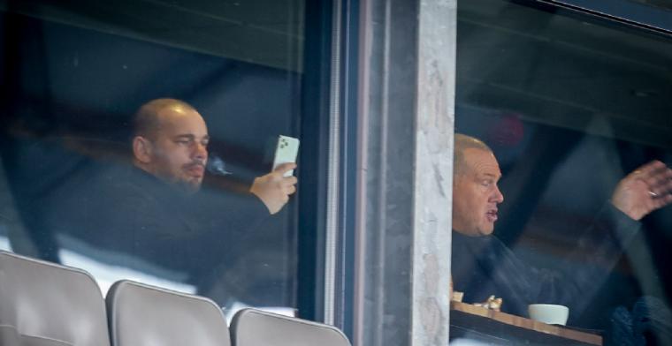 Sneijder: 'Het is geen kwestie van een zak geld neerzetten en het daarbij laten'