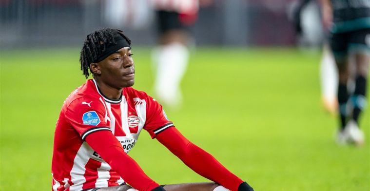 Schmidt moet ook Madueke missen tegen Feyenoord en houdt weinig opties over