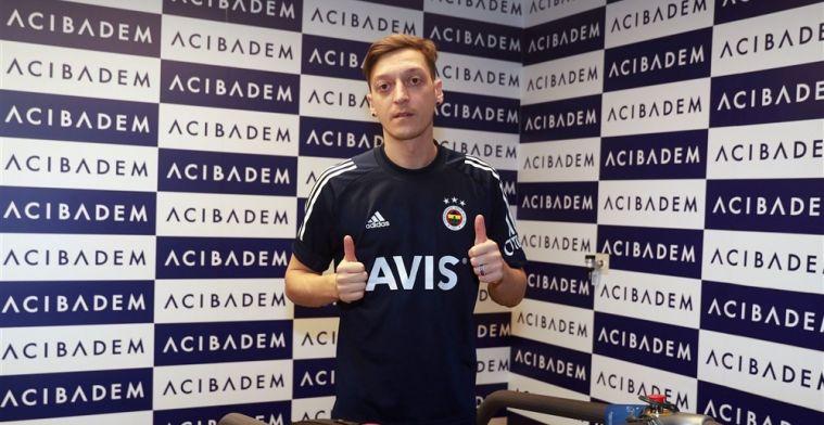 Contractdetails Özil bij Fener: half jaar gratis en forse verlaging in salaris