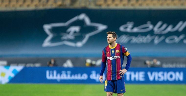 Gesprekken tussen Messi en PSG: 'Ze proberen hem over te halen'