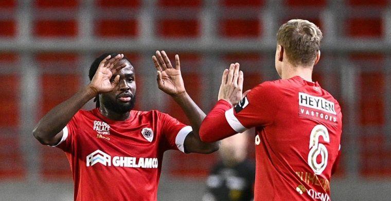 Lukaku maakt verwachtingen niet waar: Antwerp had nog niet veel aan hem