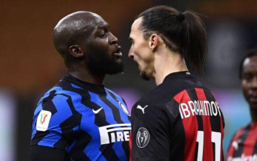 Ibrahimovic scoort én krijgt rood: Eriksen beslist verhitte derby in minuut 97
