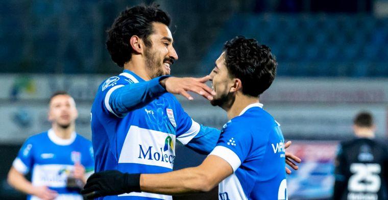 PEC maakt 0-2 achterstand goed in derby tegen Heracles: Reza opnieuw supersub
