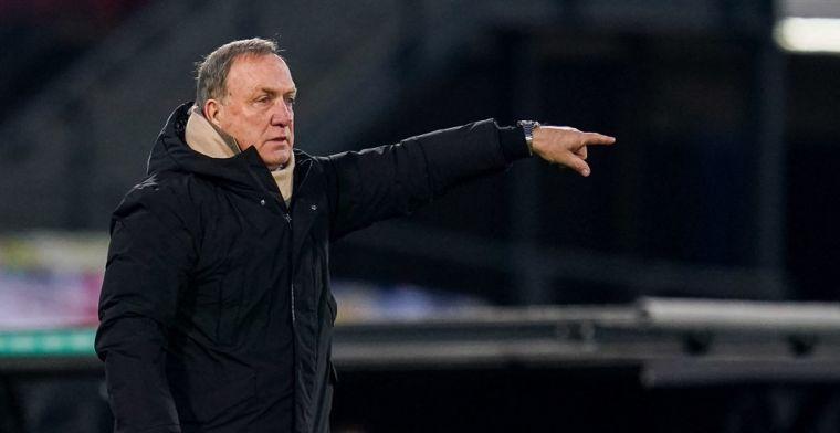 Advocaat hoopt op Feyenoord-reeks: 'Vorig seizoen waren het vijftien punten'