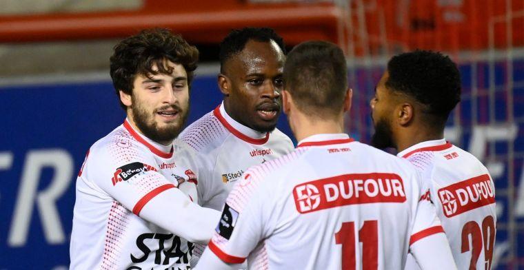 Nmecha bezorgt Anderlecht een puntje met penalty in slotfase tegen Moeskroen