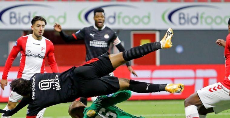 PSV beëindigt Oude Meerdijk-syndroom met late goals, maar ziet Dumfries uitvallen