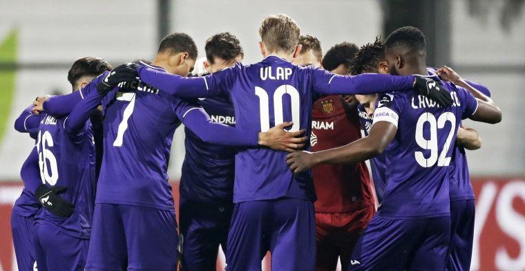 Anderlecht is erdoor aan het komen, de top vier gaan ze altijd halen