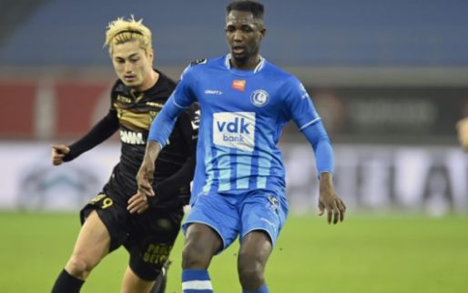 STVV geeft in het absolute slot winst tegen KAA Gent nog uit handen.