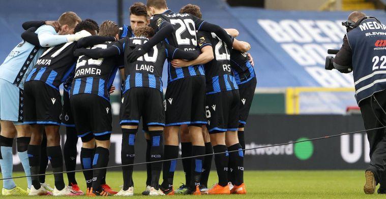 Club Brugge trekt met deze 21 spelers richting de Brugse derby