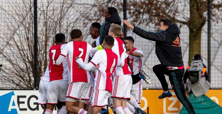 Talenten Ajax en AZ weten waar ze aan toe zijn na Youth League-loting