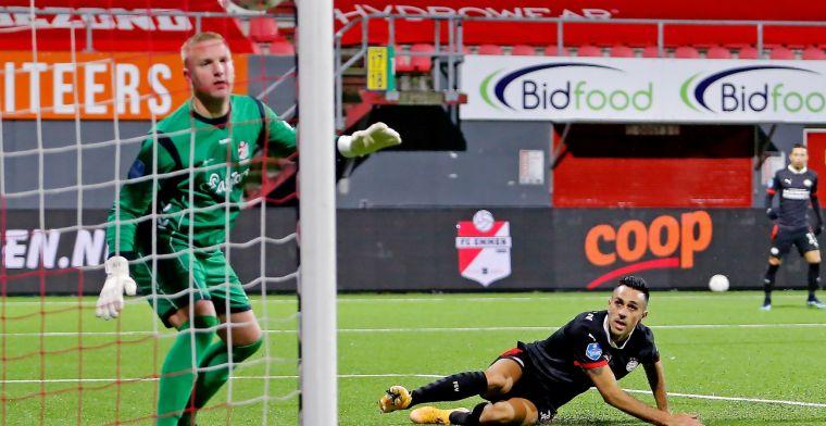 FC Emmen-doelman Telgenkamp 'vindt wel wat' van aanhoudende kritiek Derksen