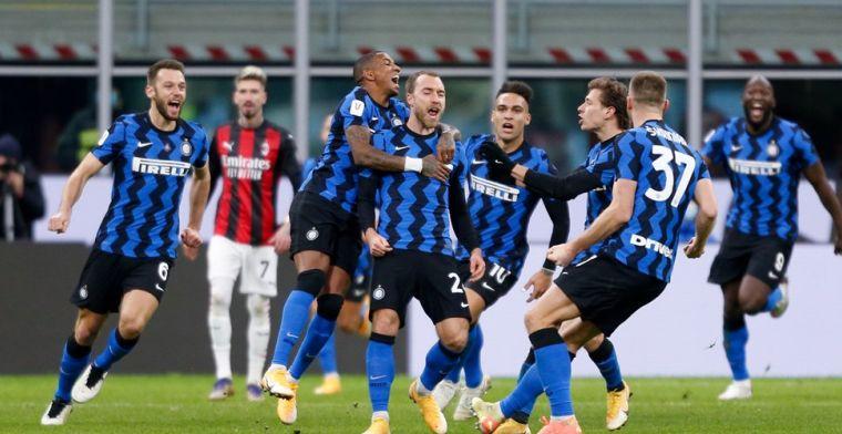 Conte zet streep door transfer 'verlegen' Eriksen: 'Hebben niet nog zo'n speler'
