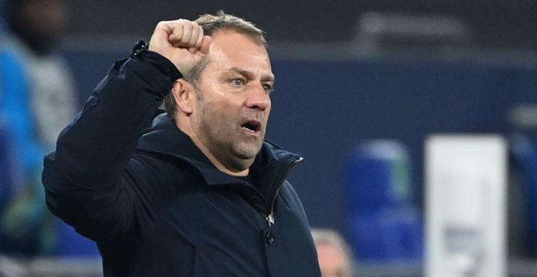 'Toekomst van succescoach Flick bij Bayern is onzeker na clash met Salihamidzic'