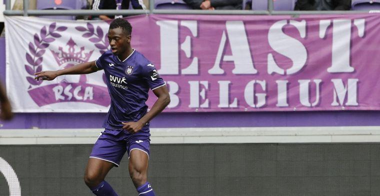 Opgeluchte Bundu: Bij Anderlecht is het niet zoals verhoopt verlopen