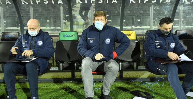 """KAA Gent-speler bloeit op onder Vanhaezebrouck: """"Begon aan transfer te denken"""