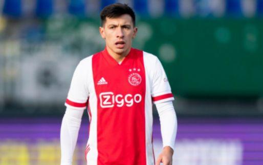 Verbazing over Ajax-situatie Martínez: 'Andere club vinden om minuten te maken'