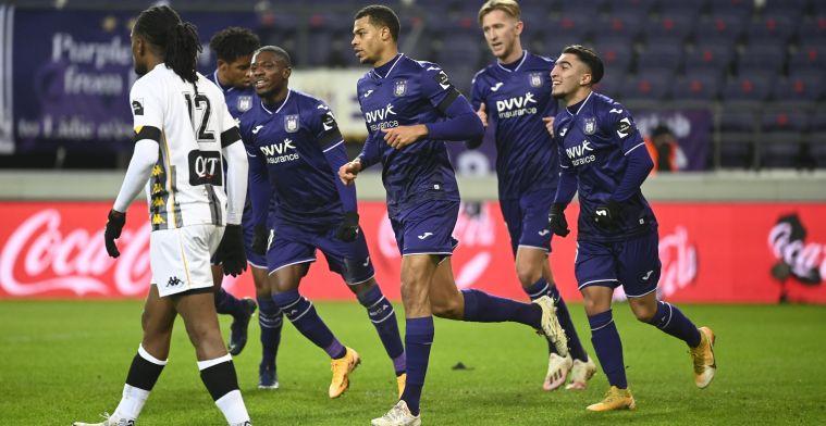 """Vandenbempt ziet probleem bij Anderlecht: """"Geen buffer om foutjes op te vangen"""""""