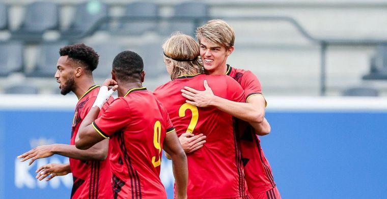 Belgische beloften kennen tegenstanders voor EK-kwalificatie in 2023