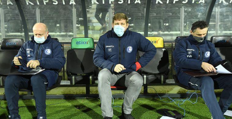 """Vanhaezebrouck na KAA Gent-STVV: """"Ze hebben mij verrast en hadden geluk"""""""