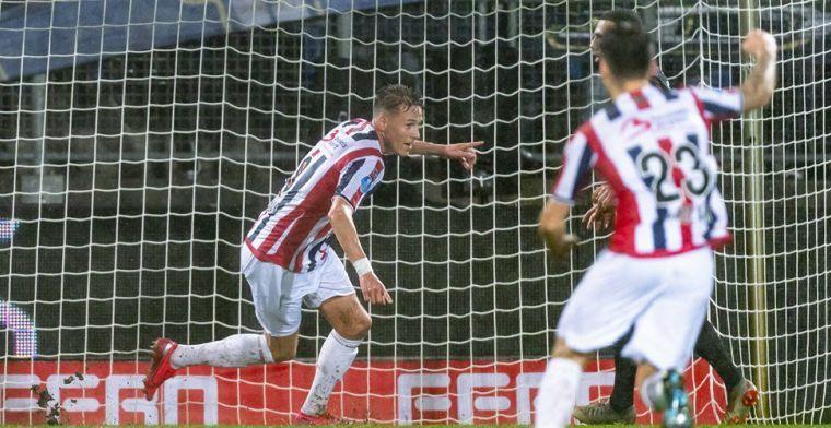 Gladon verscheurt contract bij Willem II: 'spits op weg naar concurrent'