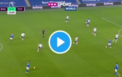 GOAL: Trossard maakt pas tweede van het seizoen na geweldige aanval Brighton