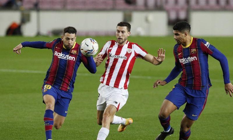 Afbeelding: Barcelona vergeet Supercopa-sof en legt Athletic Club nu wel over de knie
