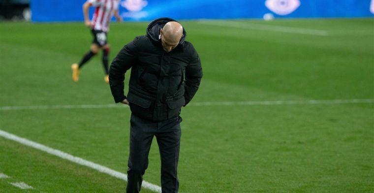 'Zidane moet vrezen voor ontslag en kan alleen nog hopen op de Champions League'