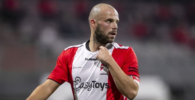 Witte rook in Breda: Jansen (31) komt transfervrij over van FC Emmen