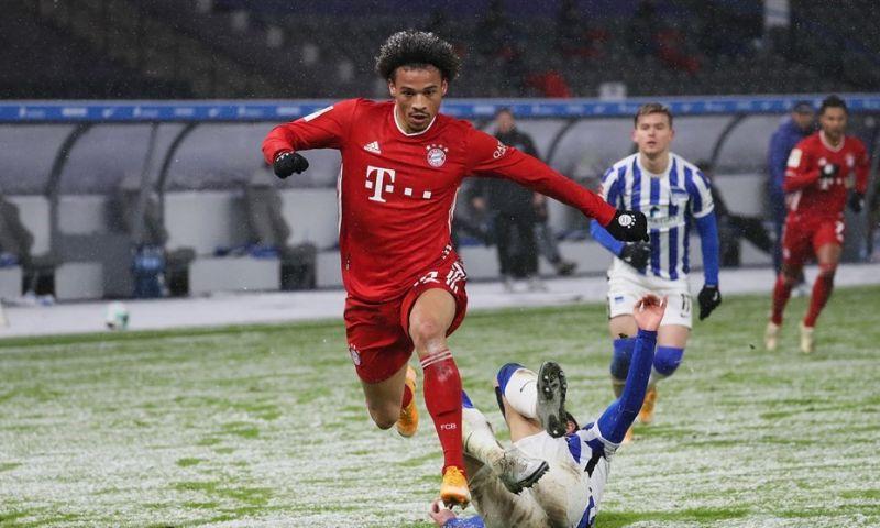 Afbeelding: Bayern blijft overeind in Berlijn en laat de concurrentie ver achter zich