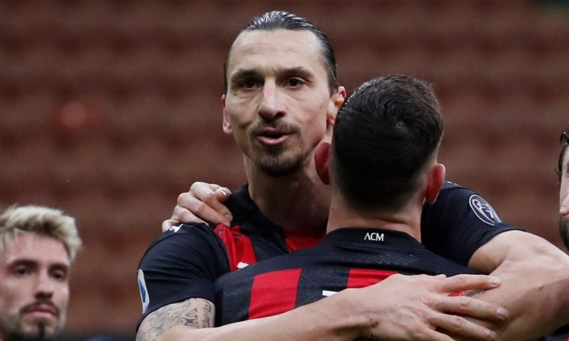 Afbeelding: Ibrahimovic schrijft geschiedenis bij goednieuwsshow koploper AC Milan