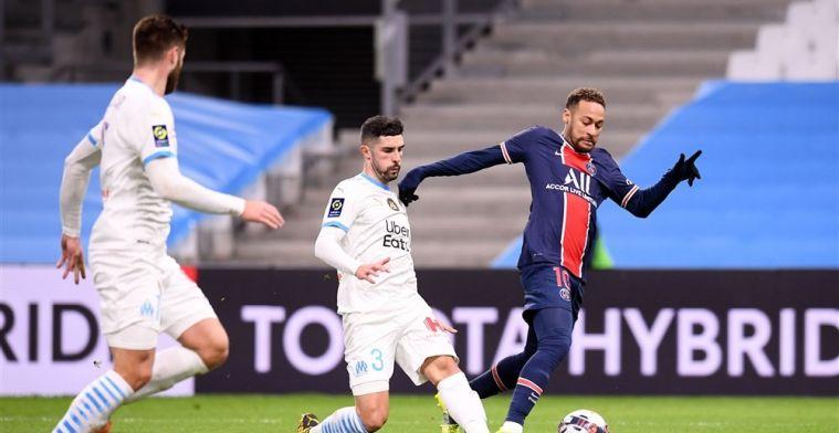 Paris Saint-Germain wint Franse klassieker en zet Lille weer onder druk