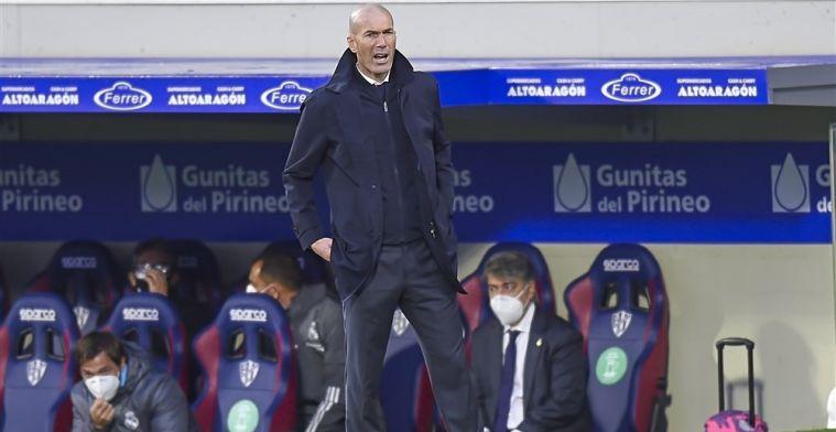 'Blessuregolf bij Real Madrid: Zidane kan maar twaalf selectiespelers meenemen'